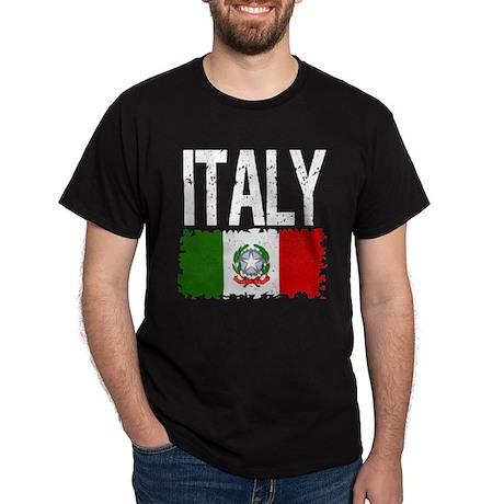 Classic Retro Italy Dark T-Shirt