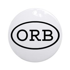 ORB Oval Ornament (Round)