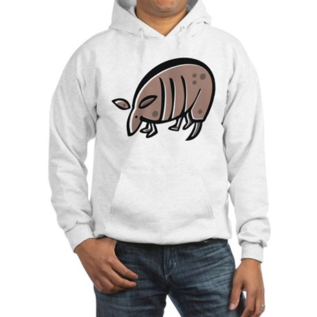 Armadillo (Front & back) Hooded Sweatshirt