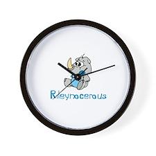 Rileynocerous Wall Clock