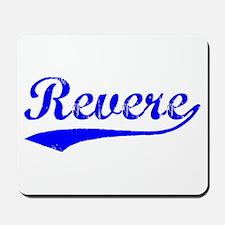 Vintage Revere (Blue) Mousepad