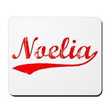 Vintage Noelia (Red) Mousepad