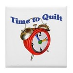 Time To Quilt - Quilter's Clo Tile Coaster