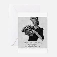 Yarn - LYS for SEX Greeting Card