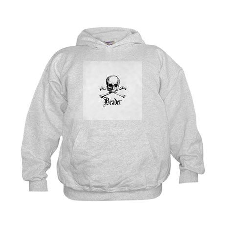 Beader - Skull and Crossbones Kids Hoodie