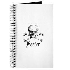 Beader - Skull and Crossbones Journal