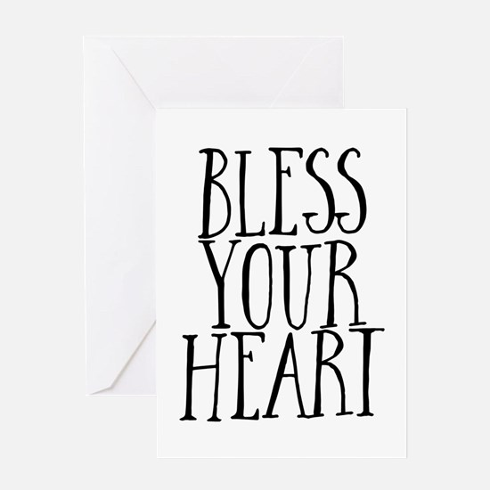 Sourthern Bless Your Heart Greeting Cards