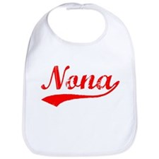 Vintage Nona (Red) Bib