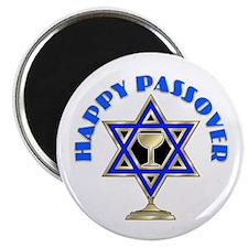 Jewish Star Passover Magnet