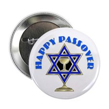"""Jewish Star Passover 2.25"""" Button (10 pack)"""