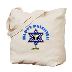 Jewish Star Passover Tote Bag