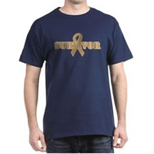 Gold Ribbon Survivor T-Shirt