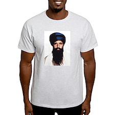 Sant Jarnail Singh Ji Khalsa  Ash Grey T-Shirt
