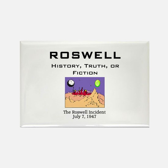 ABH Roswell Rectangle Magnet