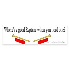 Rapture Bumper Sticker