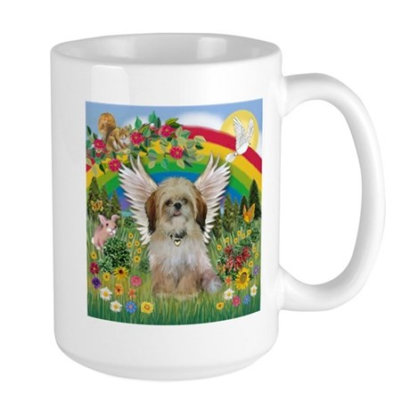 Rainbow & Shih Tzu Large Mug