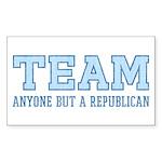 Team Anti Republican Stickers (Rect 10 pk)