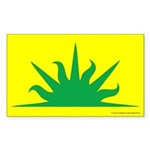 West Kingdom Populace Rectangle Sticker