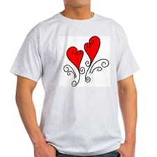 Sweetheart Ash Grey T-Shirt