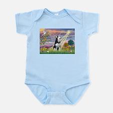 Cloud Angel & Siberian Husky Infant Bodysuit