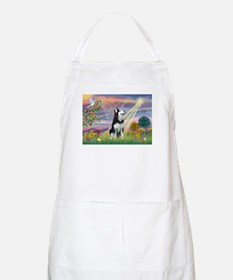 Cloud Angel & Siberian Husky BBQ Apron