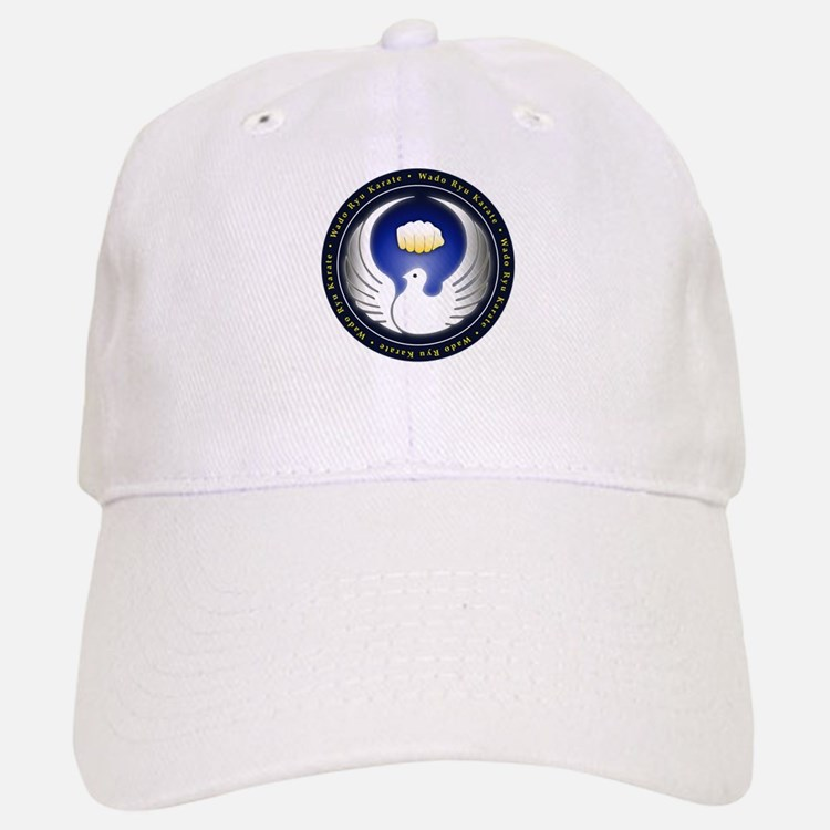 Wado Ryu Dove and Fist Baseball Baseball Cap