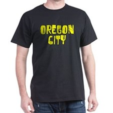 Oregon City Faded (Gold) T-Shirt