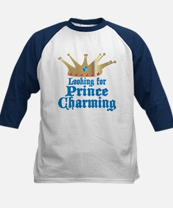 Looking For Prince Charming Kids Baseball Jersey