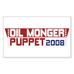 Oil Monger 2008 Stickers (Rect 50 pk)