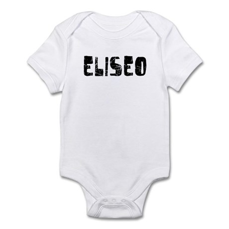 Eliseo Faded (Black) Infant Bodysuit