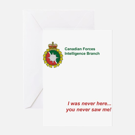 I Was Never Here... Greeting Card