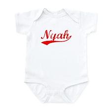Vintage Nyah (Red) Infant Bodysuit