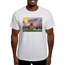Guardian Angel Silky Terrier T-Shirt