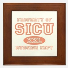 Property of SICU Nurse Framed Tile