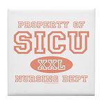 Property of SICU Nurse Tile Coaster