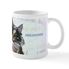 Ideal cat gift wise skogkatt Mug