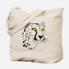 Silhouette Cheetah Tote Bag