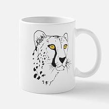 Silhouette Cheetah Mug