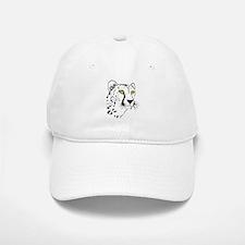 Silhouette Cheetah Baseball Baseball Cap