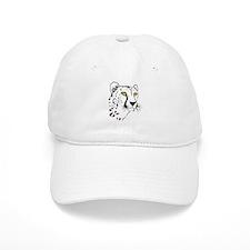 Silhouette Cheetah Baseball Cap