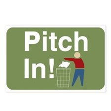 Pitch In Keep America Clean Postcards (Package of