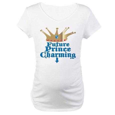 Future Prince Charming Maternity T-Shirt