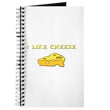 I Like Cheese! Journal