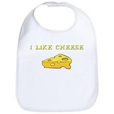 I Like Cheese! Bib