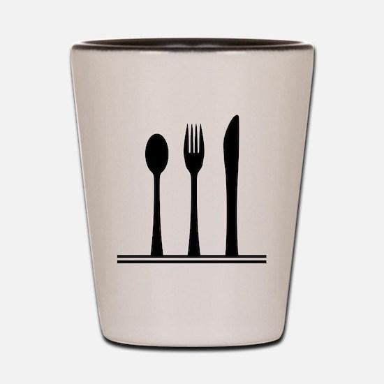 Cute Cutlery Shot Glass
