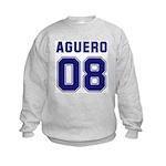 Aguero 08 Kids Sweatshirt