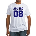 Aguero 08 Fitted T-Shirt