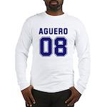 Aguero 08 Long Sleeve T-Shirt