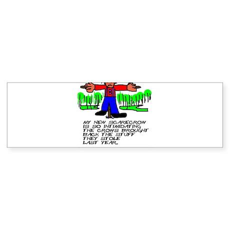 Scarecrow Bumper Sticker