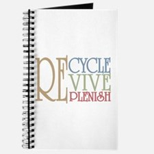 Recycle Revive Replenish Journal